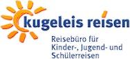 Reisebüro kugeleis reisen Logo