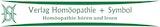 Verlag Homöopathie + Symbol Logo