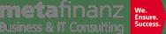 metafinanz Informationssysteme GmbH Logo