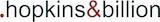 .hopkins&billion Logo