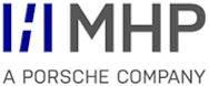 MHP – A Porsche Company Logo