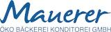 Öko Bäckerei Konditorei Mauerer GmbH Logo