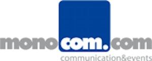 monocom, merz&friends, media&communications GmbH Logo