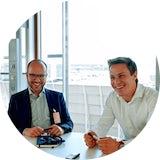 Inside Lufthansa ProTeam: Dino und Joel.
