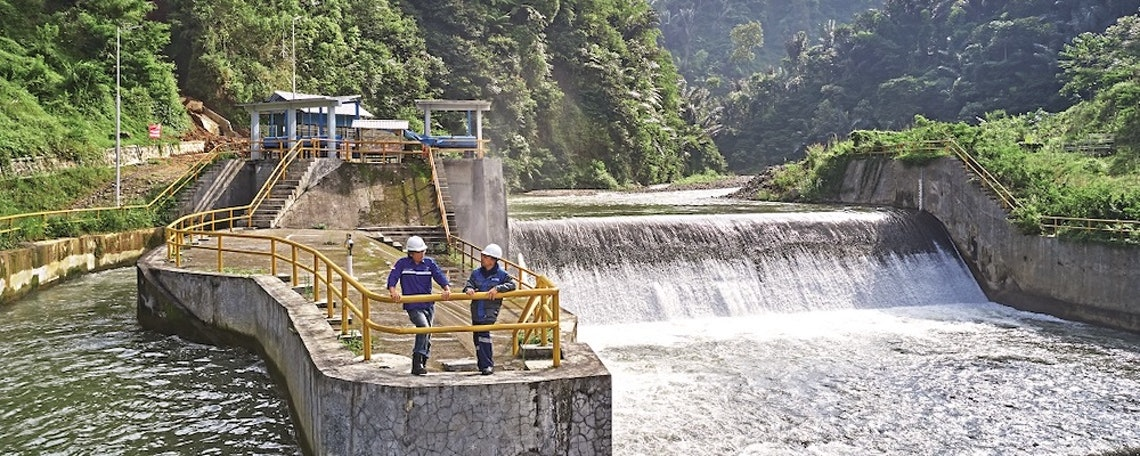 Praktikum in der Außenmontage von Wasserkraftwerken
