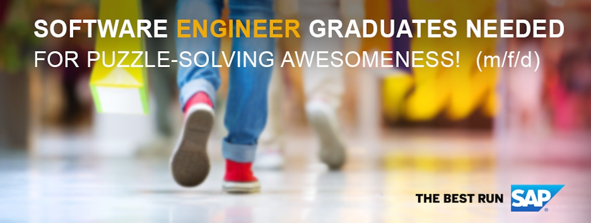 Software Engineer Graduates needed for Puzzle-Solving Awesomeness! (m/w/d)