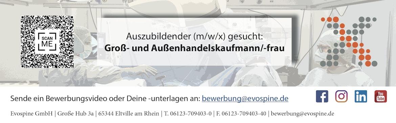 Auszubildende/n Kaufmann/Kauffrau für Groß und Außenhandel (m/w/x)