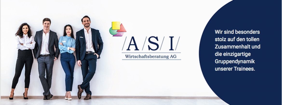 Trainee (m/w/d) Wirtschaftsberater / Financial Consultant