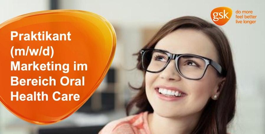 Praktikant (m/w/d) Marketing Gum / Denture