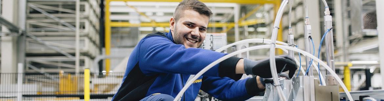 Ausbildung zum/zur Industriemechaniker/-in (m/w/d)