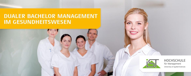 Duales Studium Management im Gesundheitswesen (B.A.)
