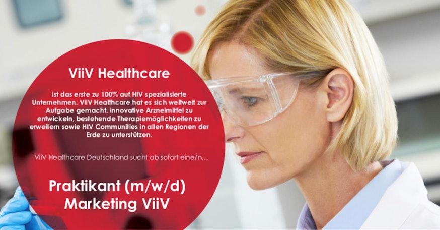 Praktikant (m/w/d) Marketing ViiV