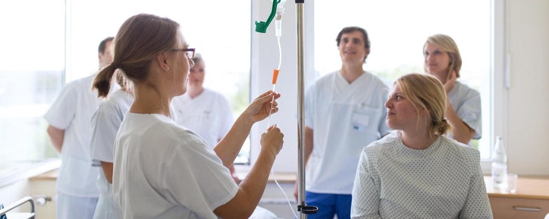 Ausbildung zur Pflegefachfrau/ zum Pflegefachmann (w/m/d)