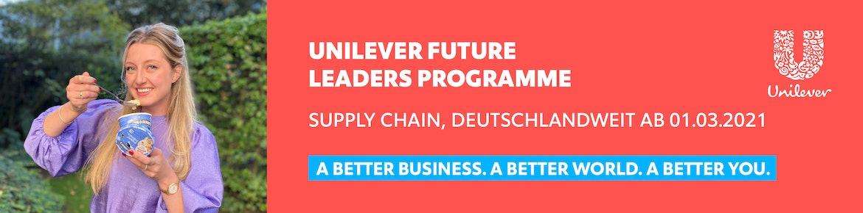 Unilever Future Leaders Programme – Supply Chain, deutschlandweit ab 01.03.2021