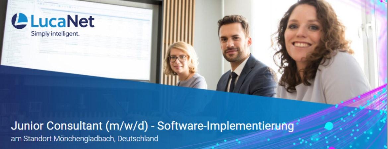 Junior Consultant (m/w/d) - Software-Implementierung