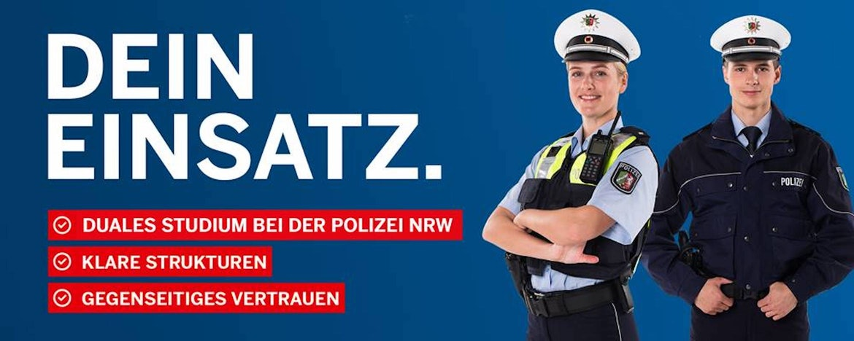 Duales Studium zur Polizeikommissarin oder -kommissar