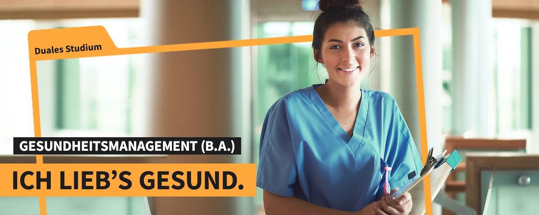 Duales Studium Gesundheitsmanagement (B.A.)