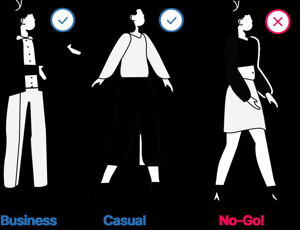 Kleidung Frauen Vorstellungsgespräch