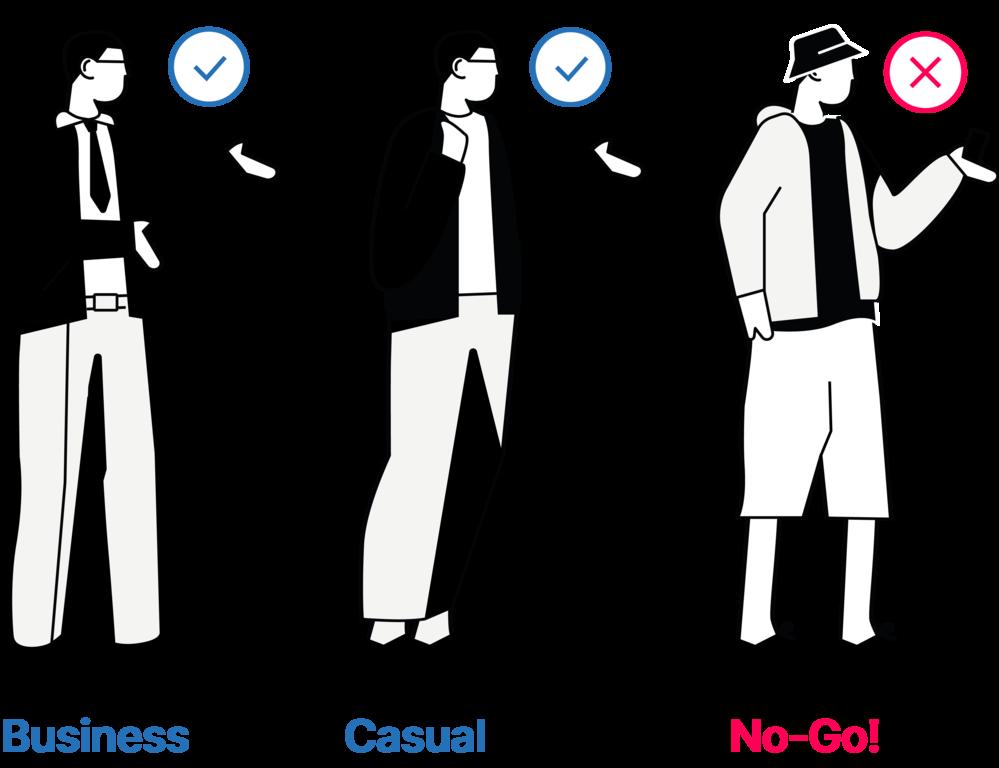 Kleidung Männer Vorstellungsgespräch