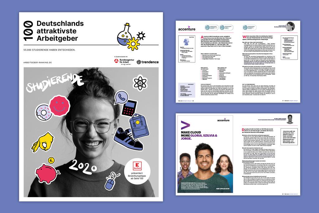 Einblick in die Print-Version Deutschlands attraktivste Arbeitgeber
