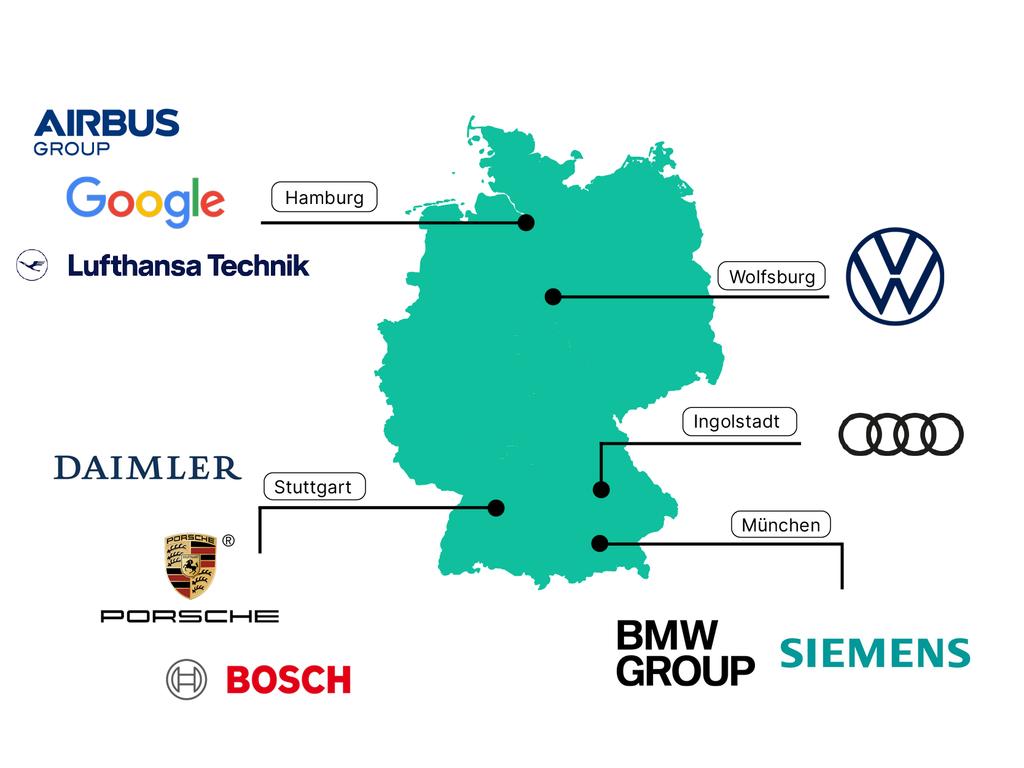 Die beliebtesten Arbeitgeber für Ingenieure in Deutschland