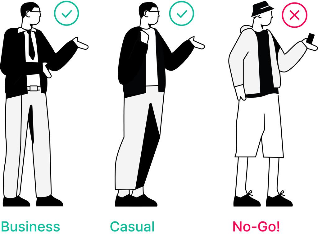 Dresscode Männer