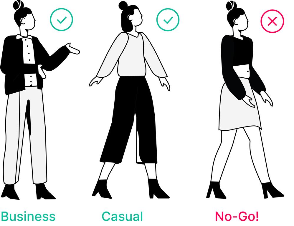 Dresscode Frauen