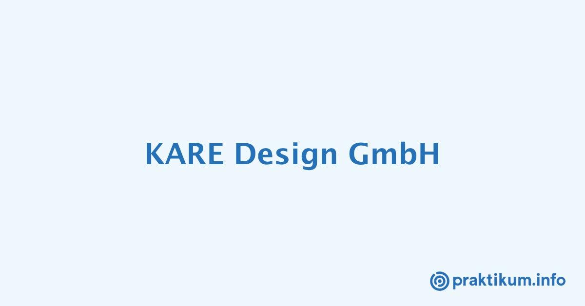 Kare München Praktikumwerkstudent Mw Für Das Online Marketing
