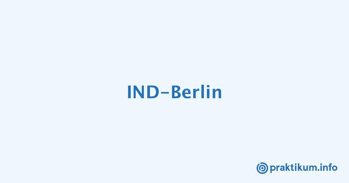 Modedesign praktikum bei ind berlin for Modedesign munchen praktikum