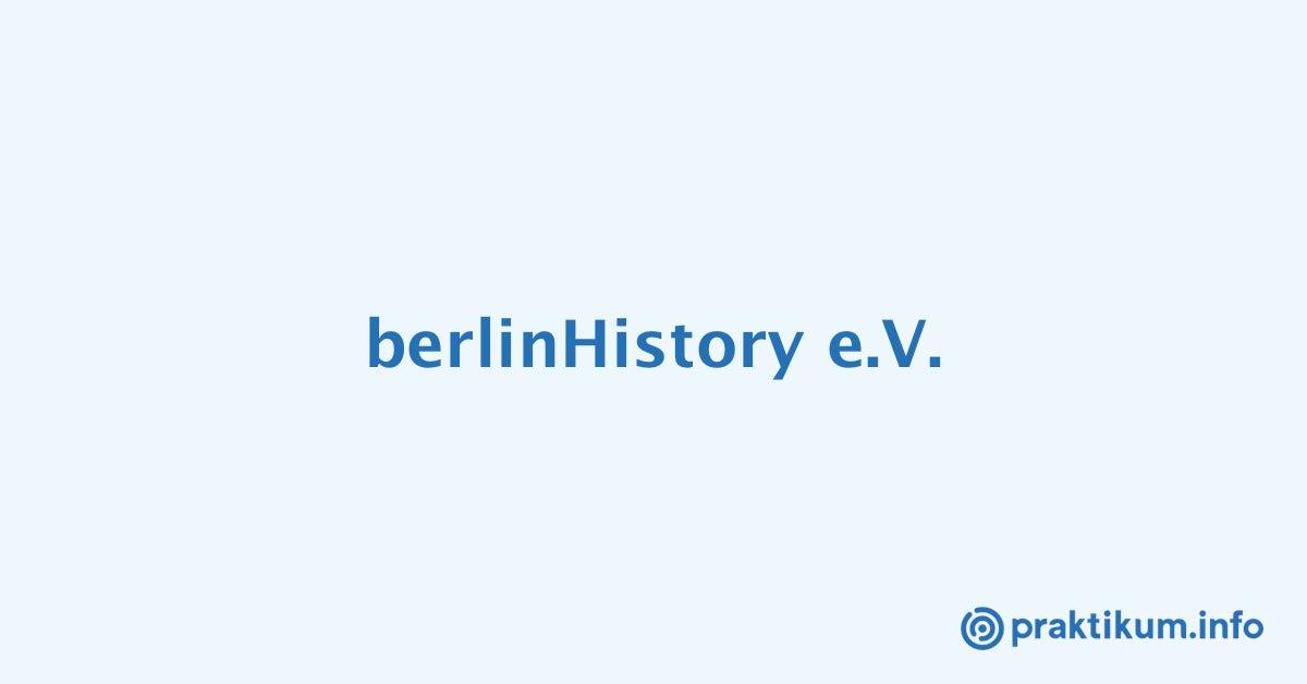Praktikum bersetzung deutsch englisch bei berlinhistory for Ubersetzung deutsch italienisch