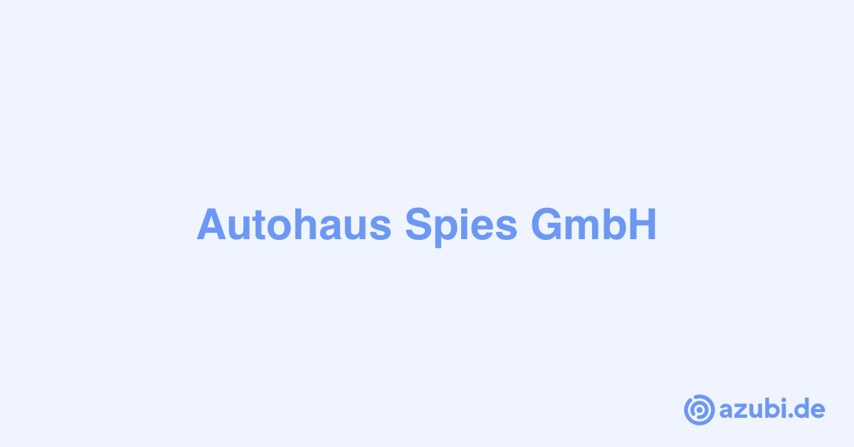 Autohaus Spies Gmbh
