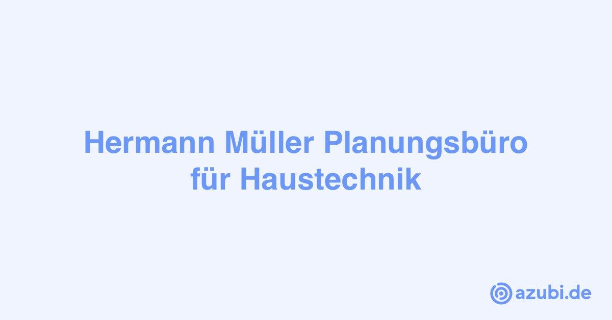 Ausbildung 2020 bei Hermann Müller Planungsbüro für ...