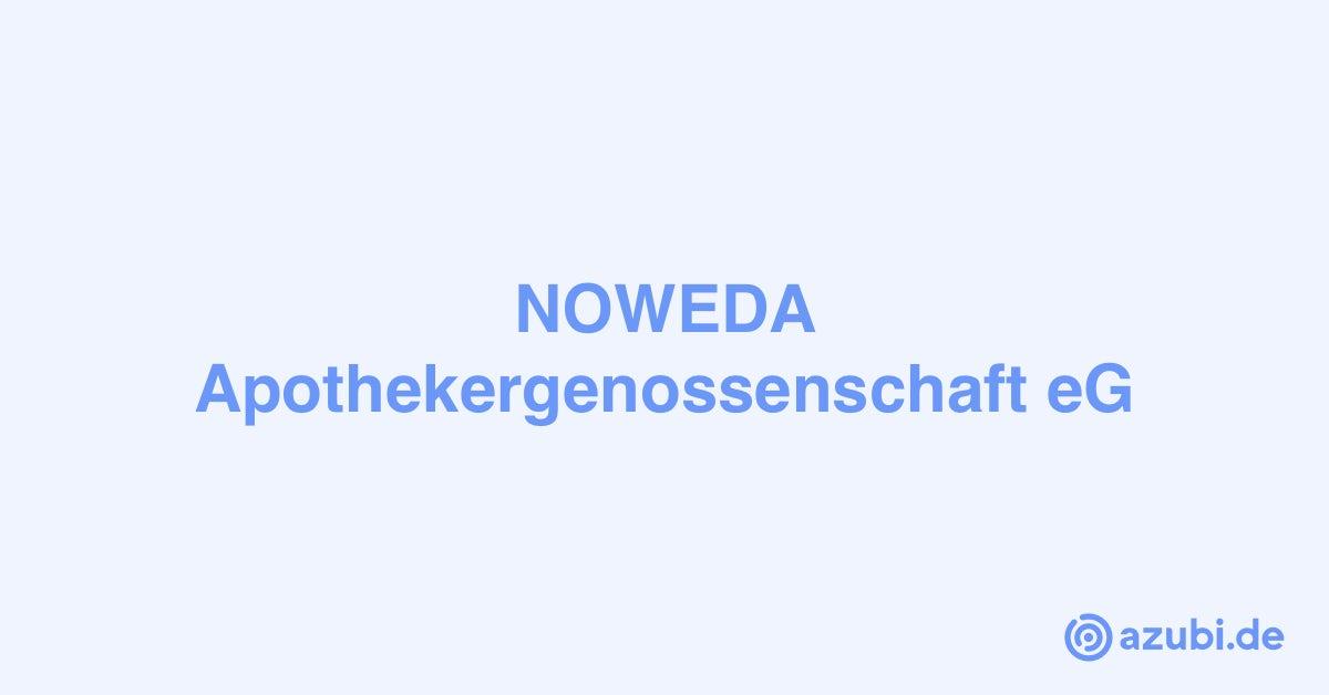 Azubi Fachlagerist (m/w/d) - 2021 - NOWEDA ...