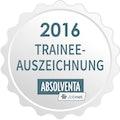 Trainee Auszeichnung 2016
