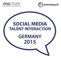 Social Media Talent Interaction Germany 2015