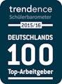 Deutschalnds 100 Top-Arbeitgeben trendence Schülerbarometer