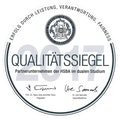 Qualitätssiegel der HSBA