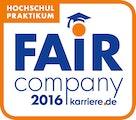 Fair Company 2016 Hochschul Praktikum