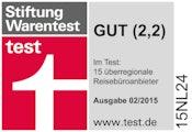 Stiftung Warentest - Im Test: 15 überregionale Reisebüroanbieter
