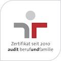 Zertifikat seit 2010 - audit berufundfamilie