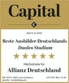 Capital Beste Ausbilder Deutschlands – Duales Studium