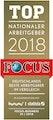 Focus - Top Nationaler Arbeitgeber 2018