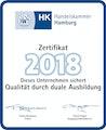 Handelskammer Hamburg Zertifikat 2018