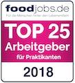 Top 25 Arbeitgeber foodjobs
