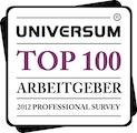 Top-Arbeitgeber 2012 - Universum