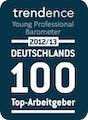 Top-Arbeitgeber 2012 - Trendence Studie