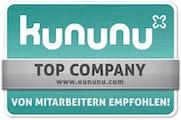 Von kununu als Top Company ausgezeichnet: