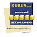 KUBUS-Gütesiegel Preis-Leistung