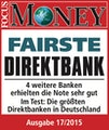 Focus Money 17/2015 - Fairste Direktbank
