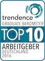 Trendence Top 10 Arbeitgeber Deutschland 2016